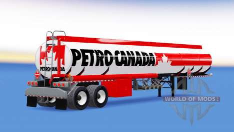 Skin Petro Canada fuel semi-trailer para American Truck Simulator