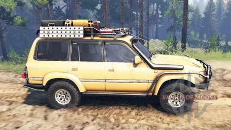 Toyota Land Cruiser 80 VX 1990 para Spin Tires