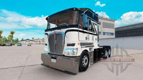 La piel del As De Picas en el tractor Kenworth K para American Truck Simulator