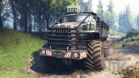 Ural-4320 [grizzly] v3.0 para Spin Tires