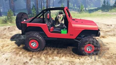 Jeep Wrangler 2005 para Spin Tires