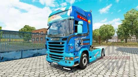La piel need For Speed Hot Pursuit en el tractor para Euro Truck Simulator 2
