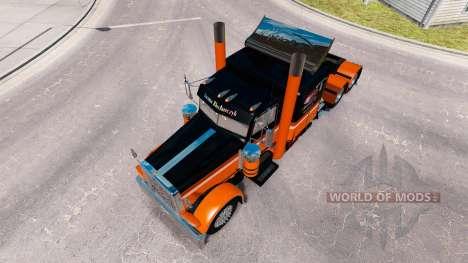 Iwona Blecharczyk de la piel para el camión Pete para American Truck Simulator