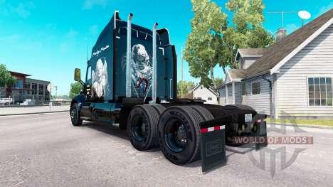 Marilyn Monroe de la piel para el camión Peterbi para American Truck Simulator