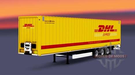 Semitrailer Corona Dryliner para Euro Truck Simulator 2