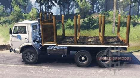 KamAZ-53212 v4.0 para Spin Tires