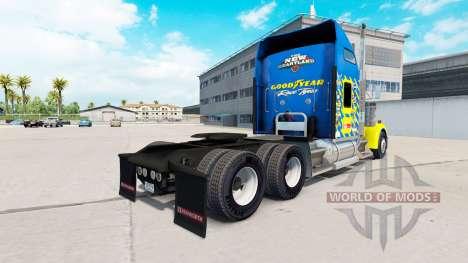 La piel de Goodyear de Carreras de camiones Kenw para American Truck Simulator