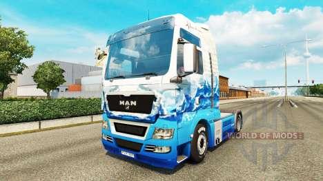 La piel Klanatrans para tractor HOMBRE para Euro Truck Simulator 2