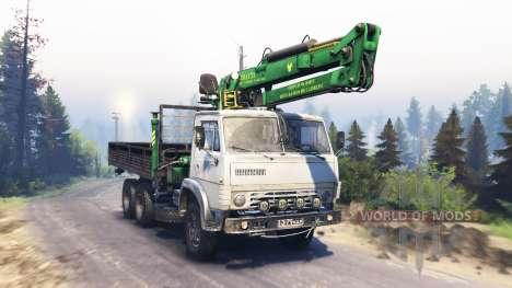 KamAZ-53212 v3.0 para Spin Tires