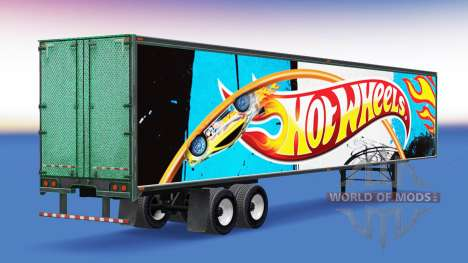 De metal semi-Hot Wheels para American Truck Simulator