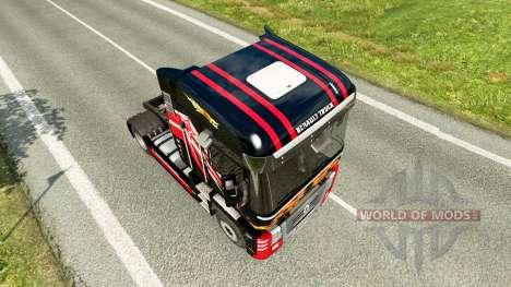 Camionero de la piel para camión Renault para Euro Truck Simulator 2