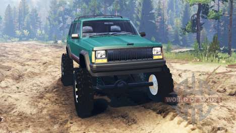 Jeep Cherokee XJ 1996 para Spin Tires