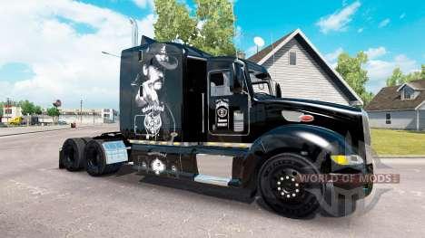 Motorhead piel para el camión Peterbilt 386 para American Truck Simulator