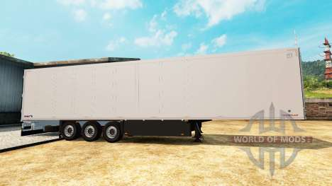 Refrigerado semi-remolque Schmitz Cargobull para Euro Truck Simulator 2