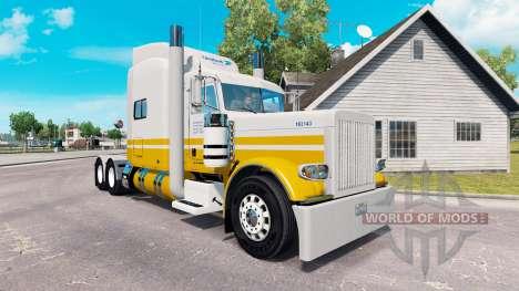 La piel United Van Lines para el camión Peterbil para American Truck Simulator