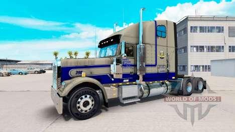 La piel Leavitts en el camión Freightliner Class para American Truck Simulator