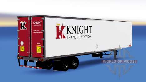 La piel de Caballero de Transporte semi-remolque para American Truck Simulator