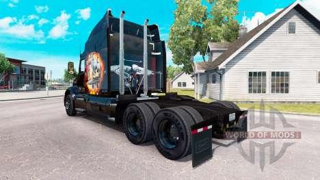 Star Trek en la piel para que el camión Peterbil para American Truck Simulator