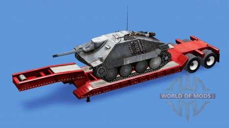 Baja de barrido con un montón de diferentes tanq para American Truck Simulator