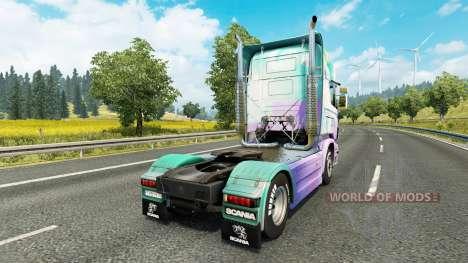 Little Pony la piel para Scania camión para Euro Truck Simulator 2