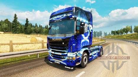 Dub Step piel para Scania camión para Euro Truck Simulator 2