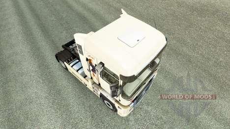 Pinup de la piel para Renault camión para Euro Truck Simulator 2