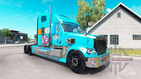 La piel Petty 43 tractor Freightliner Coronado para American Truck Simulator