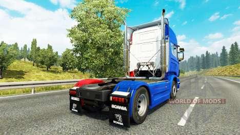 Francia piel para Scania camión para Euro Truck Simulator 2