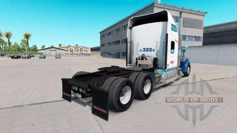 La piel de Swift en el camión Kenworth W900 para American Truck Simulator