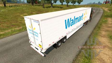 Refrigerado semi-remolque para Euro Truck Simulator 2
