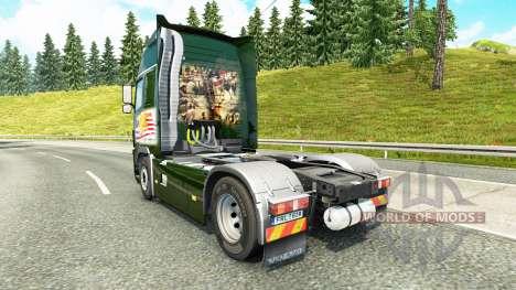 De Carga militar de la piel para camiones Volvo para Euro Truck Simulator 2