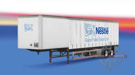 La piel se encuentran en el trailer para American Truck Simulator
