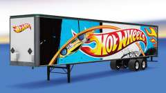De metal semi-Hot Wheels