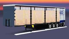 Cortina semi-remolque Schmitz Cargobull