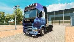 Efecto de la masa de la piel para Scania camión