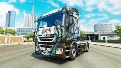 La piel Klanatrans en el camión Iveco