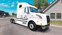 Daybreak Express de la piel para camiones Volvo