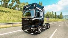 La piel de Scania Camiones para tractor Scania