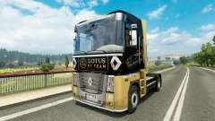 F1 Lotus piel para Renault camión