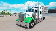 La piel de Estrella FJ Servicio en el camión Ken