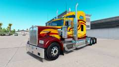 La piel Sobreviviente camión Kenworth W900