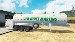El semirremolque tanque White Martins