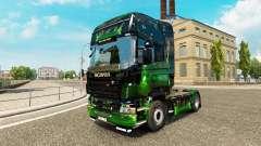 Obras de arte de la piel para Scania camión