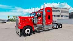Heartland Express de la piel [rojo] camión Kenwo