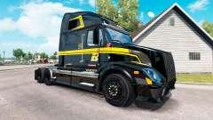 La piel en Groupe Robert camión Volvo VNL 670