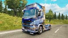 La piel en invierno para Scania camión