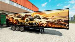 La piel de World of Tanks en semi-remolques