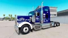 La piel Tío D de la Logística en el camión Kenwo