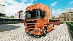 Ferrugem de la piel para Scania camión