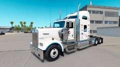 Pepsi piel para el Kenworth W900 tractor